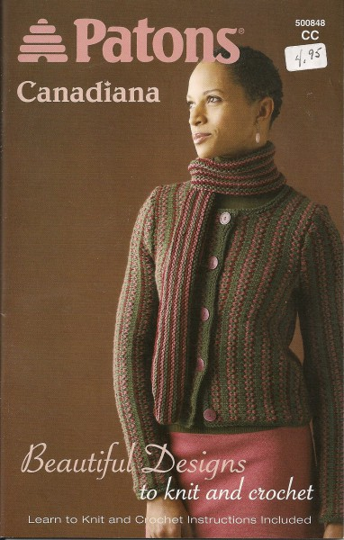 Canadiana Beautiful Designs to knit and crochet