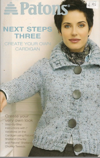 Next steps Three Create your own cardigan