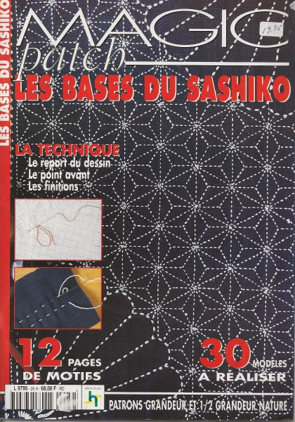 Magic Patch Les bases du Sashiko 30 modèles à réaliser