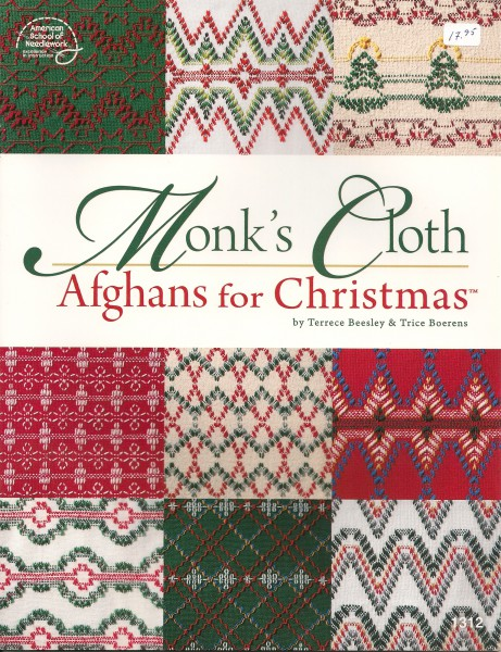 Monk`s Cloth ``Afghans for Christmas``