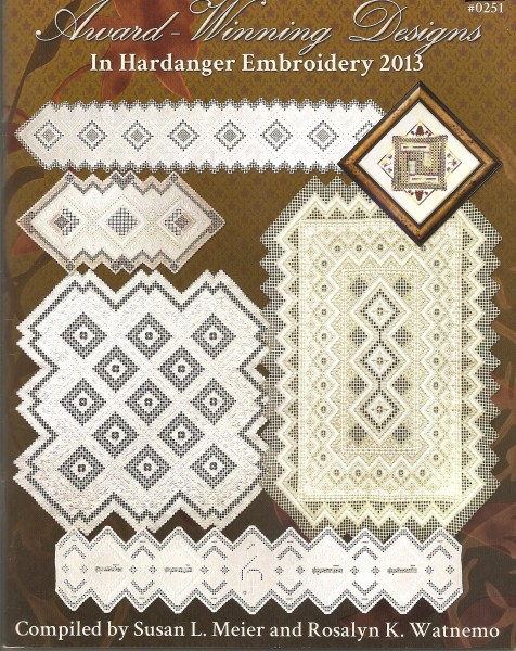 2013 Award-Winning Desings in Hardanger Embroidery