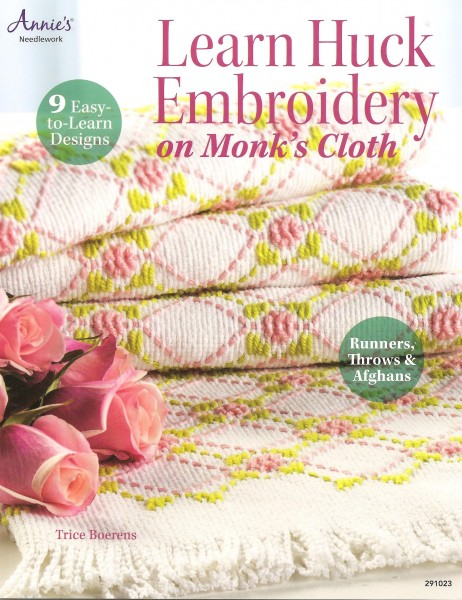 Learn Huck Embroidery on Monk's Cloth 9 Easy-to-Learn Designs