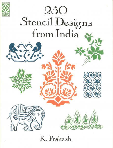 250 Stencil Designs from India
