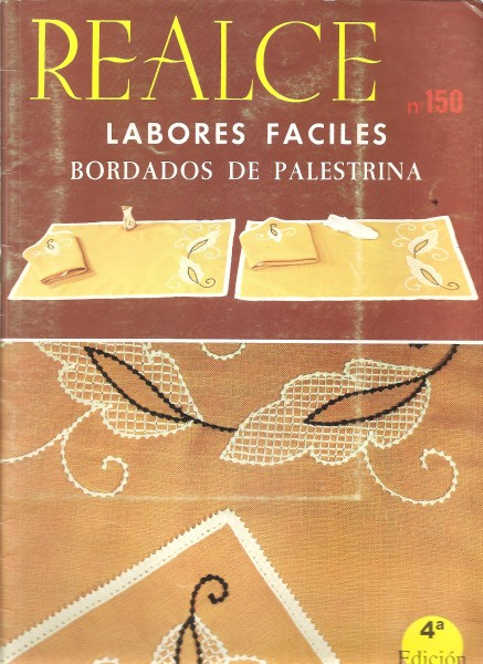 Realce no.150 LABORES FACILE Bordados de Palestrina