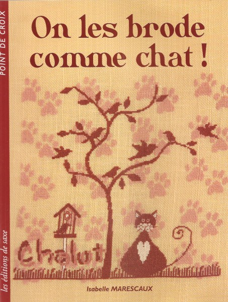 On les brode comme chats!