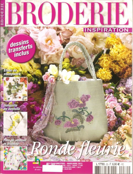Broderie Inspiration Ronde fleurie