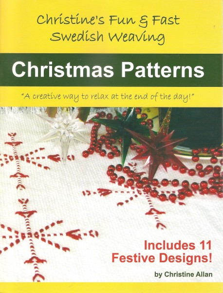 Christmas Patterns  - Christine's fun & Fast Swedish Weaving