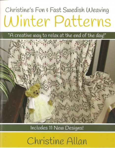 Winter Patterns  - Christine's fun & Fast Swedish Weaving