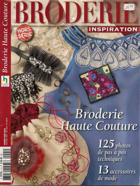 Broderie Inspiration Haute Couture