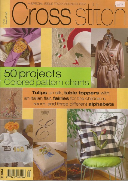 50 projets , Tulips, table toppers, fairies, alphabets