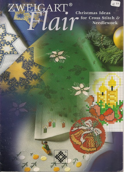 Zweigart Flair Christmas Ideas for Cross Stitch or Needwork
