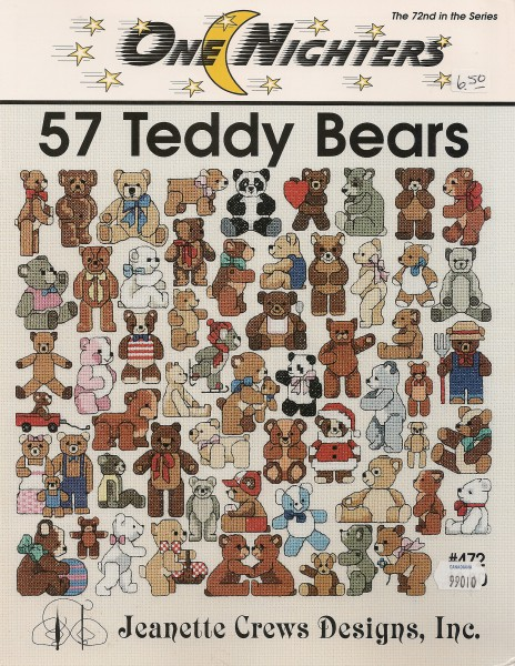 57 Teddy Bears