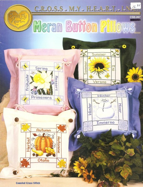 Meran Button Pillows