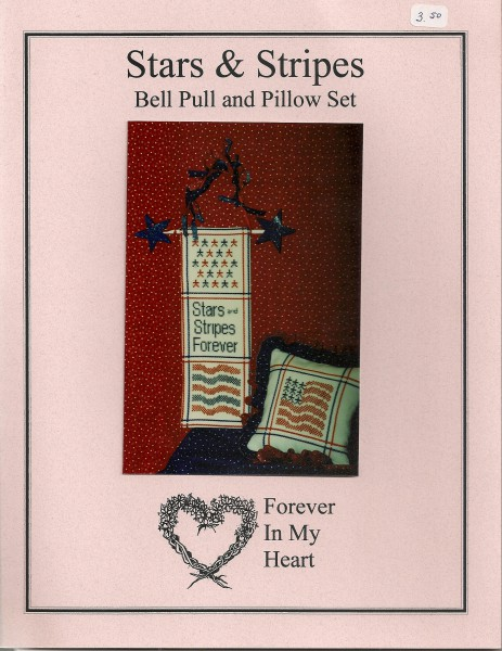Stars & Stripes Bell Pull and Pillows Set