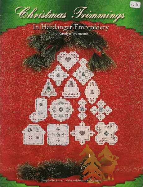 Christmas Trimmings in Hardanger Embroidery