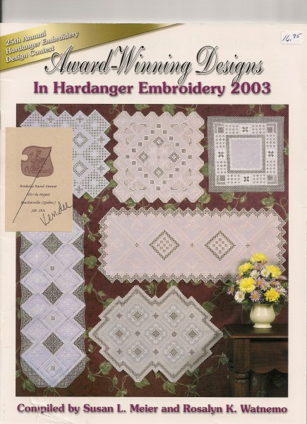2003 Award-Winning Designs in Hardanger Embroidery