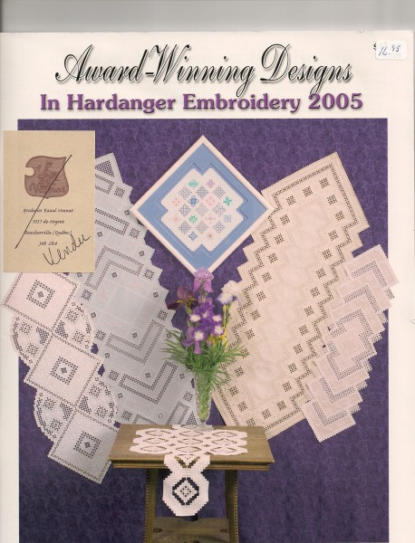 2005 Award-Winning Designs in Hardanger Embroidery