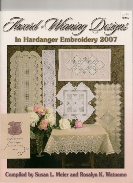 2007 Award-Winning Desings in Hardanger Embroidery