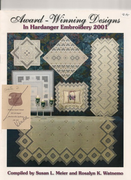 2001 Award-Winning Desings in Hardanger Embroidery