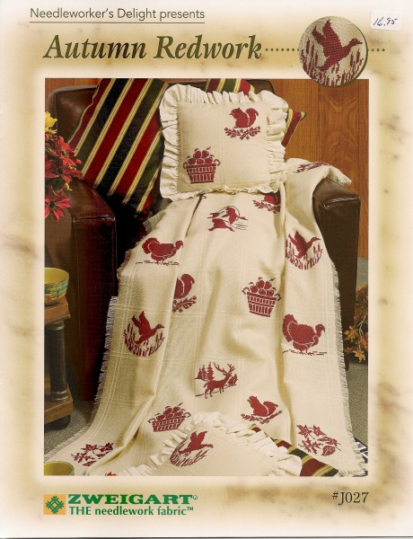 Needleworker's Delight presents: Autumn Redwork