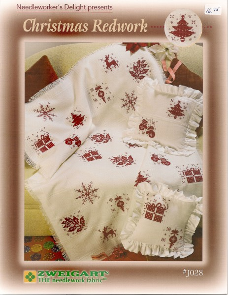 Needleworker's Delignt presents: Christmas Redwork