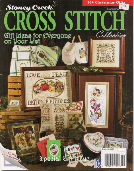 Cross Stich *Gift Ideas for everyone on your list*