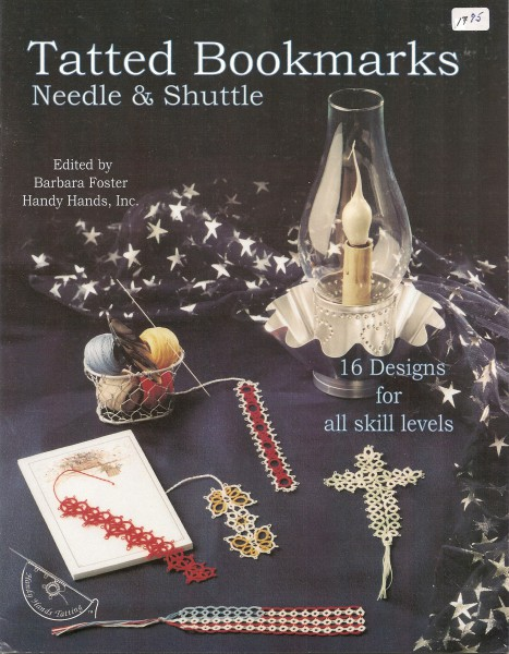 Tatted Bookmarks Needle & Shuttle
