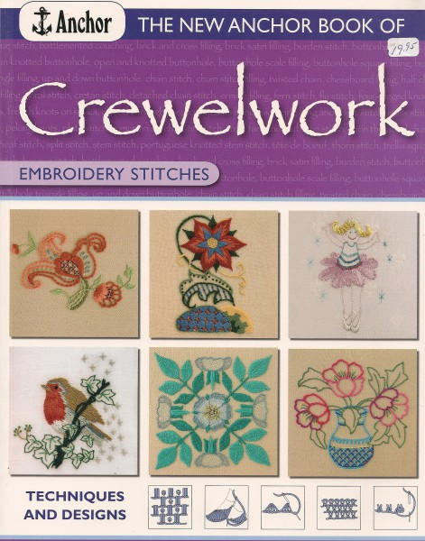 Crewelwork Embroidery Stitches