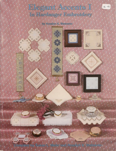 Elegant Accents IV in Hardanger Embroidery