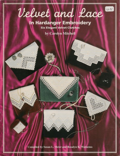 Velvet and Lace in Hardanger Embroidery