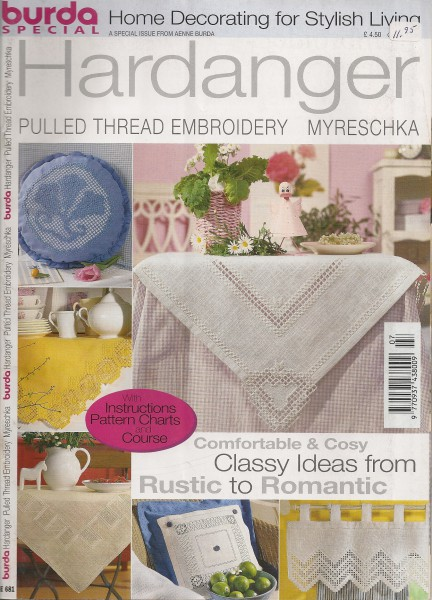 Hardanger Pulled Thread Embroidery Myreschka Classy »ideas from Rustic to Romantic