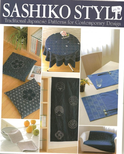 Sashiko Style traditional Japanese Patterns for Contemporary Design
