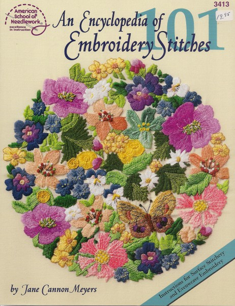 An Encyclopedia of Embroidery Stitches