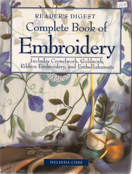 Complete Book of Embroidery Readers Digest