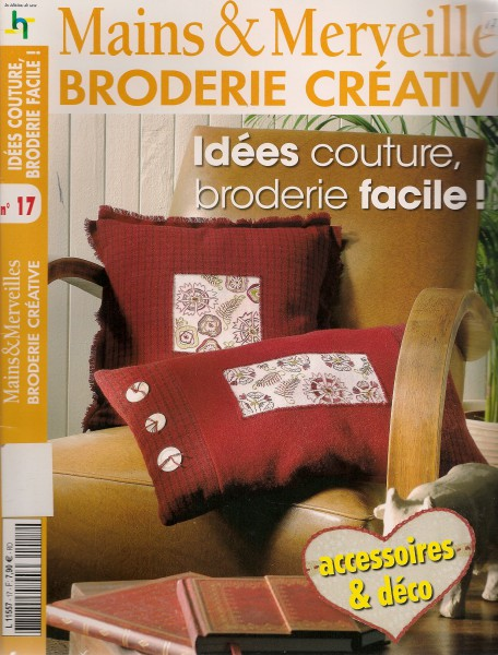 Idées couture broderie facile