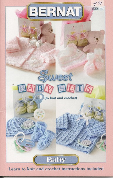 Sweet Baby Sets to knit and crochet