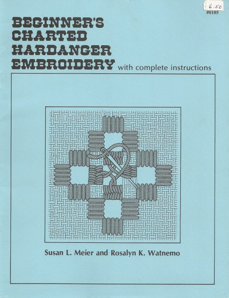 Beginner's charted Hardanger Embroidery