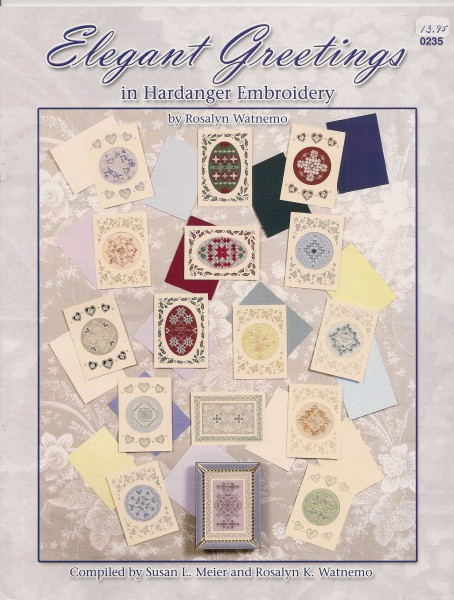 Elegant Greetings in Hardanger Embroidery