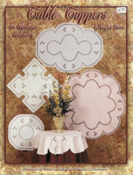 Table Toppers in Hardanger Embroidery