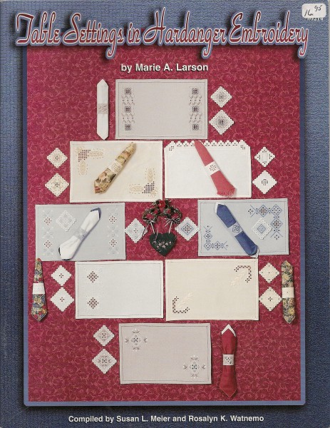 Table Setting in Hardanger Embroidery