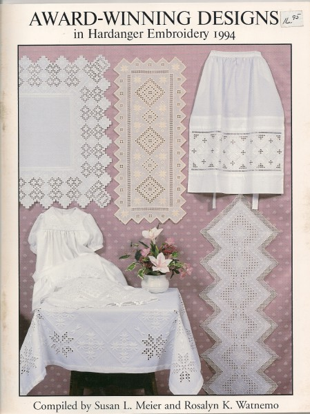 1994 Award-Winning Designs in Hardanger Embroidery